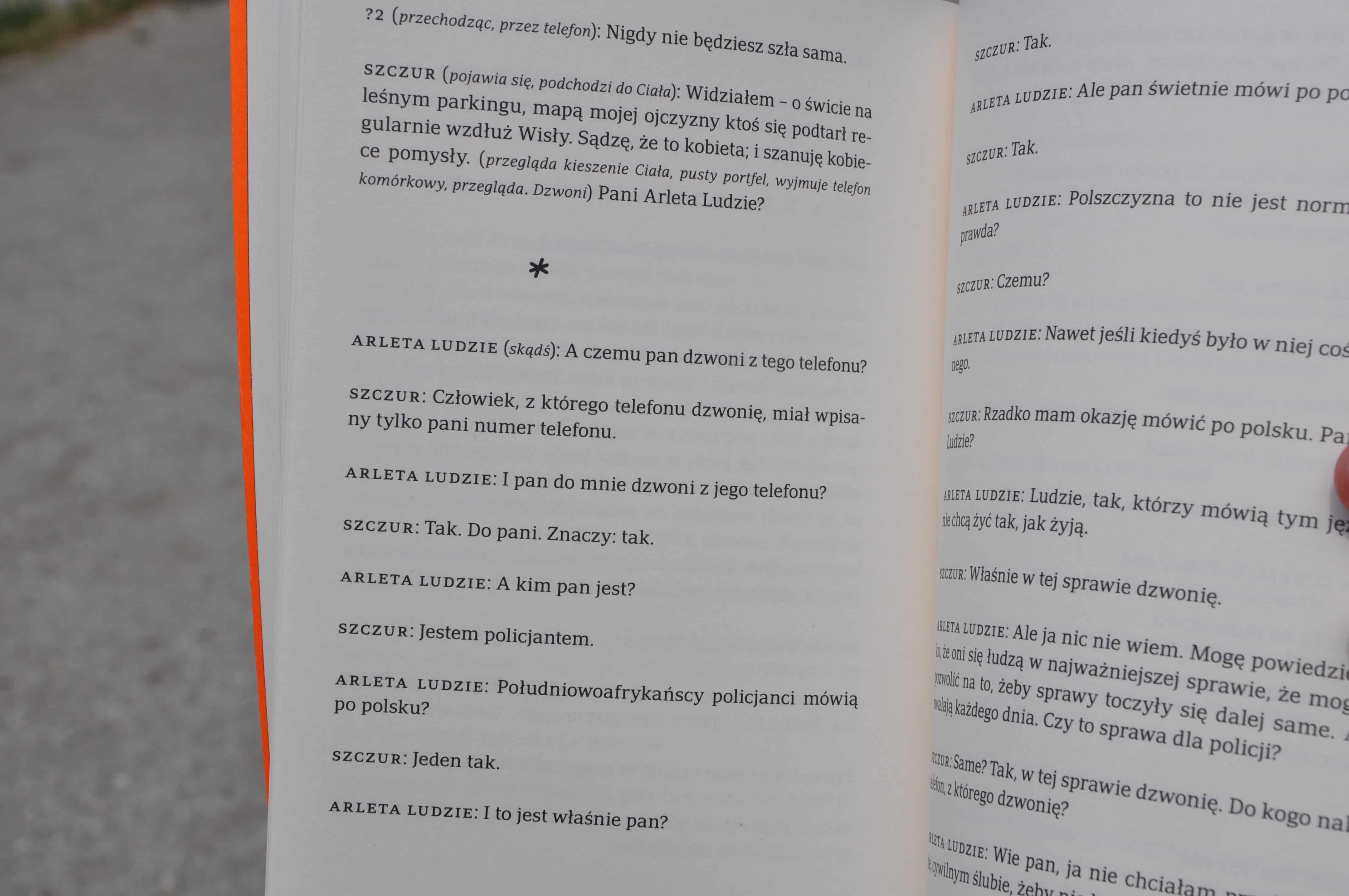 Jacek Bierut Pestka mandarynki i inne dramaty
